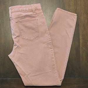 Mauve Peach Jeans EUC No Boundaries Size 13